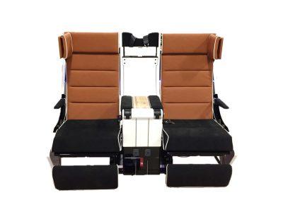 S3 Premium Economy Seat Front View Rebel